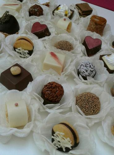 Caixa doces finos
