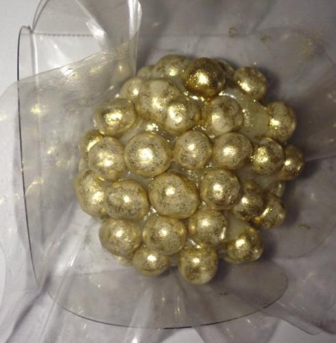 Brigadeiro dourado