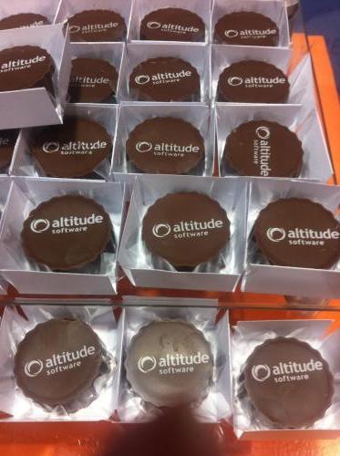 Chocolate com transferência