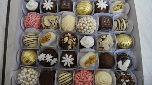 Caixa degustação doces finos