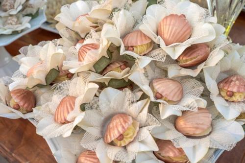 Doces finos conchas